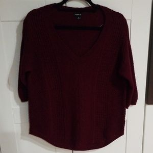 Torrid cable knit sweater